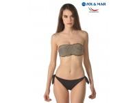 Bikini fascia Mod Camilla lurex filo oro
