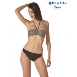 Bikini fascia Mod Giorgia lurex filo oro