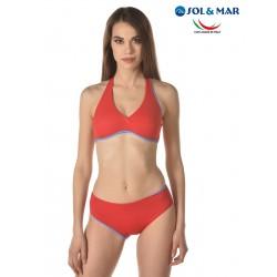 Bikini triangolo Mod. Sandra double col. frutto/milos